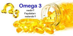 Omega 3 Balık Yağı Hapı Faydaları Nelerdir ? Omega 3 Fayda